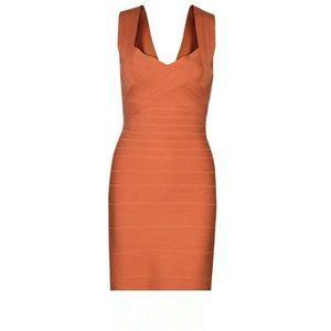 Herve Leger Jodie Novelty Essentials Bandage Dress